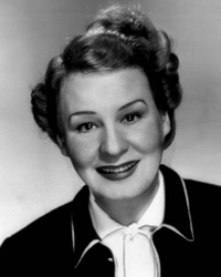 Actress Shirley Booth