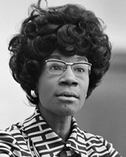 1st Black Congresswoman Shirley Chisholm