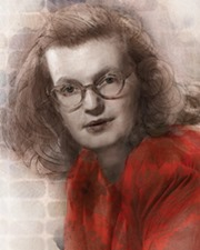 Writer Shirley Jackson