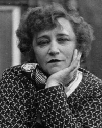 Novelist and Performer Colette