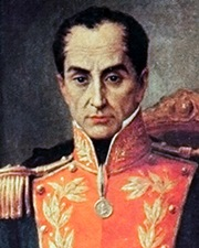 Military and Political Leader Simon Bolívar