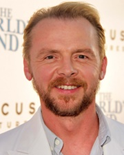 Actor and Comedian Simon Pegg