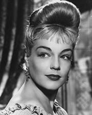 Actress Simone Signoret