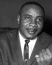 Boxer and World Heavyweight Champion Sonny Liston