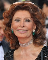 Actress Sophia Loren