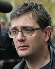 Cartoonist Stéphane Charbonnier