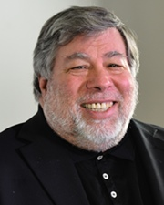Co-founder of Apple Steve Wozniak