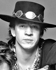 Musician, Singer and Songwriter Stevie Ray Vaughan