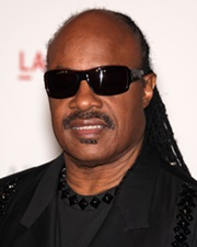 Singer-Songwriter Stevie Wonder