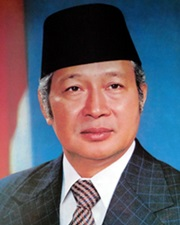 2nd President of Indonesia Suharto