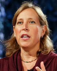 CEO of YouTube Susan Wojcicki