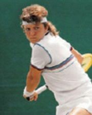 Tennis Player Sylvia Hanika
