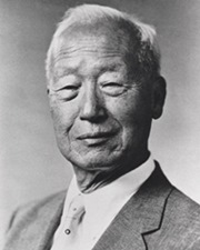 First President of South Korea Syngman Rhee