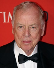Businessman and Oil Tycoon T. Boone Pickens