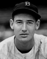 Baseball Player Ted Williams