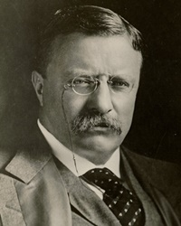 26th US President Theodore Roosevelt