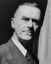 Novelist Thomas Mann