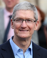 CEO of Apple Tim Cook