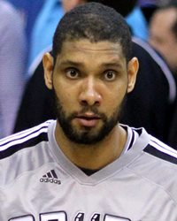 NBA Power Forward Tim Duncan
