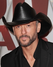 Country Musician and Actor Tim McGraw