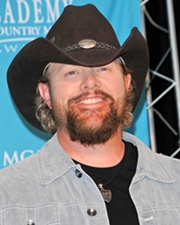 Country Singer and Actor Toby Keith