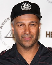 Guitarist Tom Morello
