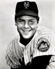 Baseball Hall of Fame Pitcher Tom Seaver
