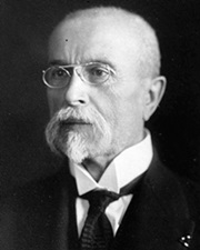 Father of Czechoslovakia Tomáš Garrigue Masaryk