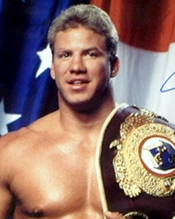 Heavyweight Boxer Tommy Morrison