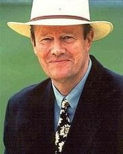 Cricketer and Commentator Tony Greig
