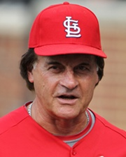Baseball Manager Tony La Russa