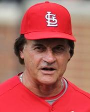 Baseball Manager Tony La Russa