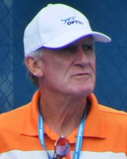 Tennis Player and Coach Tony Roche