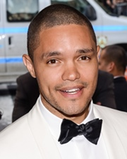 Comedian and TV Host Trevor Noah