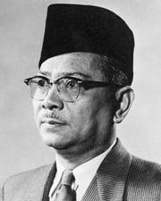 Malaysia's Founding Father Tunku Abdul Rahman