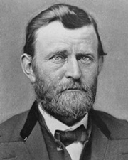 Union General and US President Ulysses S. Grant