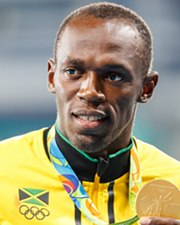 Olympic Sprinter Usain Bolt