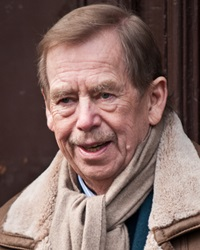 Politician and Author Václav Havel