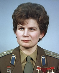 1st Woman in Space Valentina Tereshkova