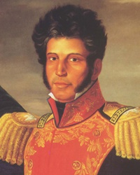 Revolutionary General and President of Mexico Vicente Guerrero