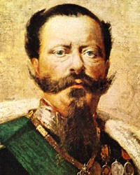 King of Sardinia and Italy Victor Emmanuel II