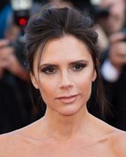 Singer and Fashion Designer Victoria Beckham