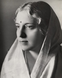 Indian Politician and Diplomat Vijaya Lakshmi Pandit