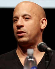 Actor, Producer and Screenwriter Vin Diesel