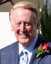 Sportscaster Vin Scully