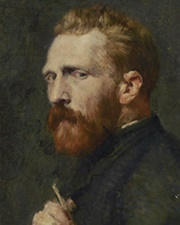 Artist and painter Vincent van Gogh