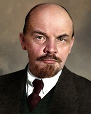 Marxist Revolutionary and Soviet Leader Vladimir Lenin