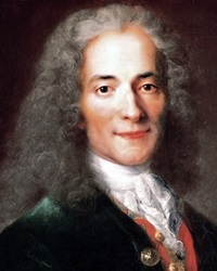 French Enlightenment Philosopher Voltaire