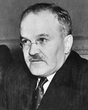 Soviet Foreign Minister Vyacheslav Molotov