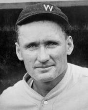 MLB Pitcher Walter Johnson